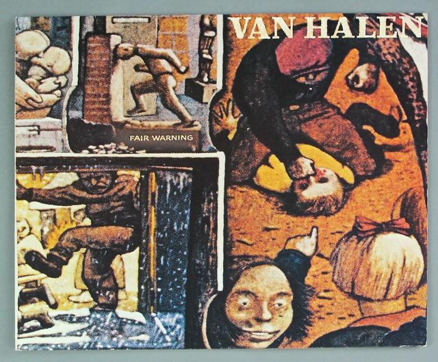 """VAN HALEN FAIR WARNING 12"""" LP"""