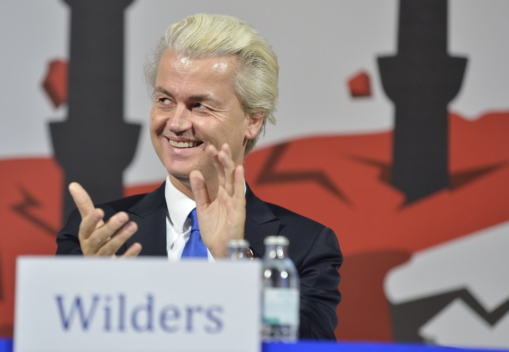Geert Wilders zu Gast in der Wiener Hofburg #FPÖ #Wien