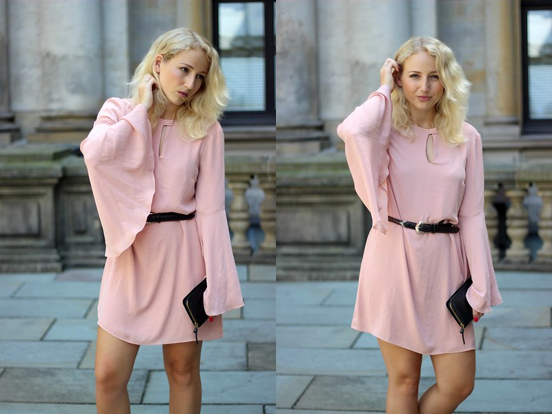 OUTFIT Edited rosa Kleid1