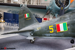 MM53265 5 - 72 - Italian Air Force - FIAT G.55 Centauro - Italian Air Force Museum Vigna di Valle, Italy - 160614 - Steven Gray - IMG_0334_HDR
