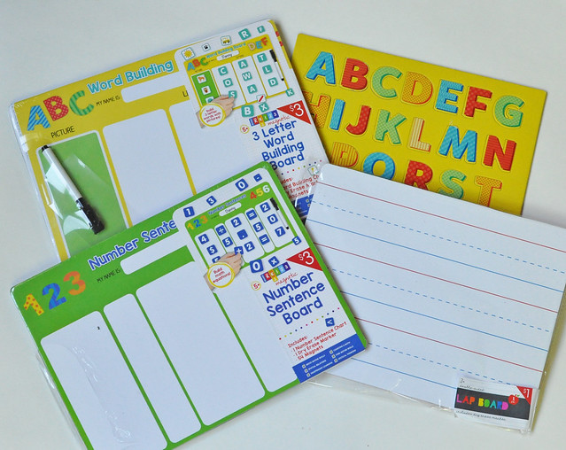 Learning Materials for Busy Bags Binder
