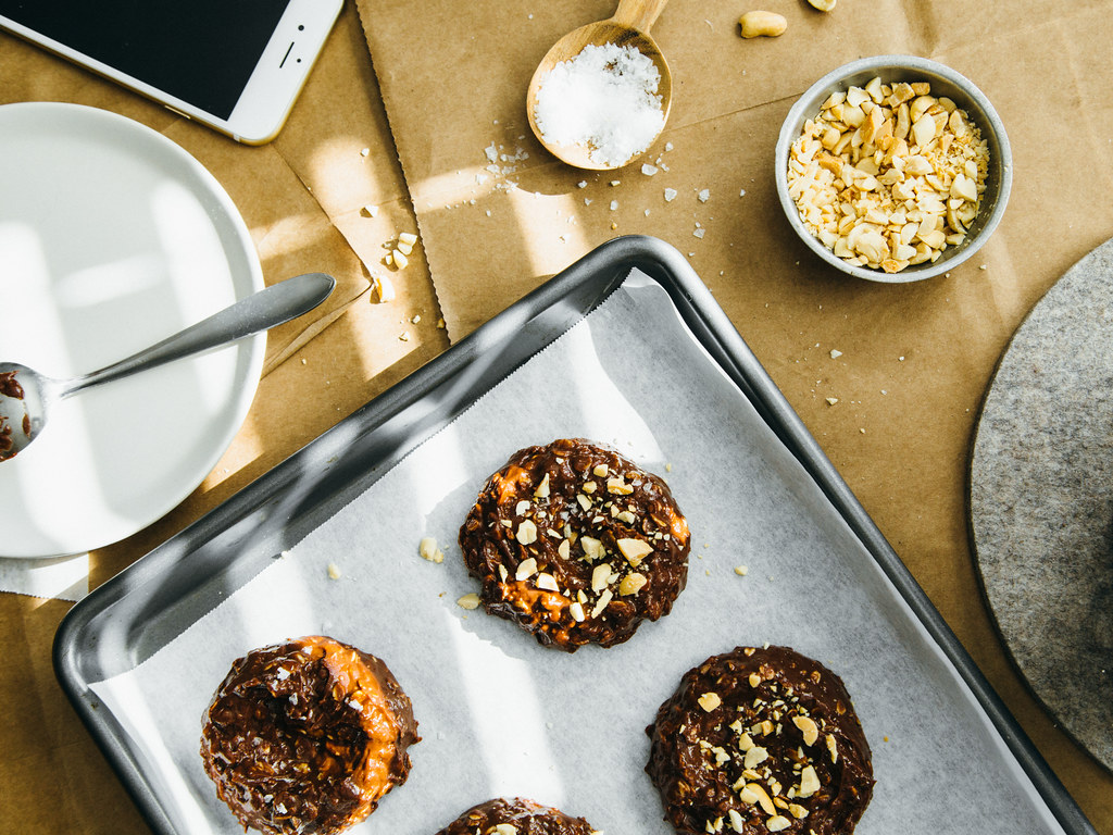 The new easy no-bake cookies