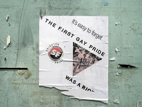 Gay Pride Riot