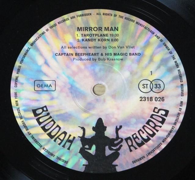 "CAPTAIN BEEFHEART & HIS MAGIC BAND - MIRROR Man original buddah 12"" LP VINYL"