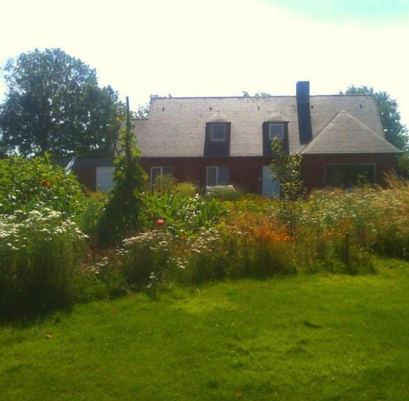 summer at Dickinson House