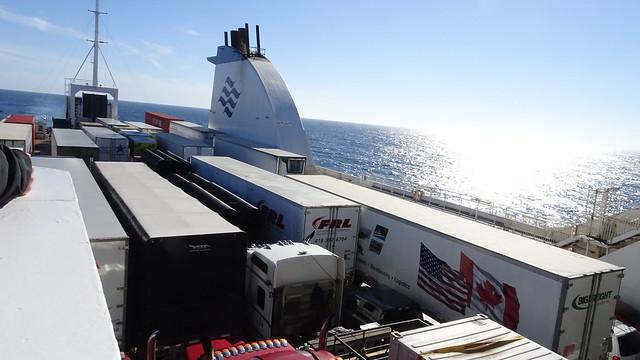 Trucks on the Ferry
