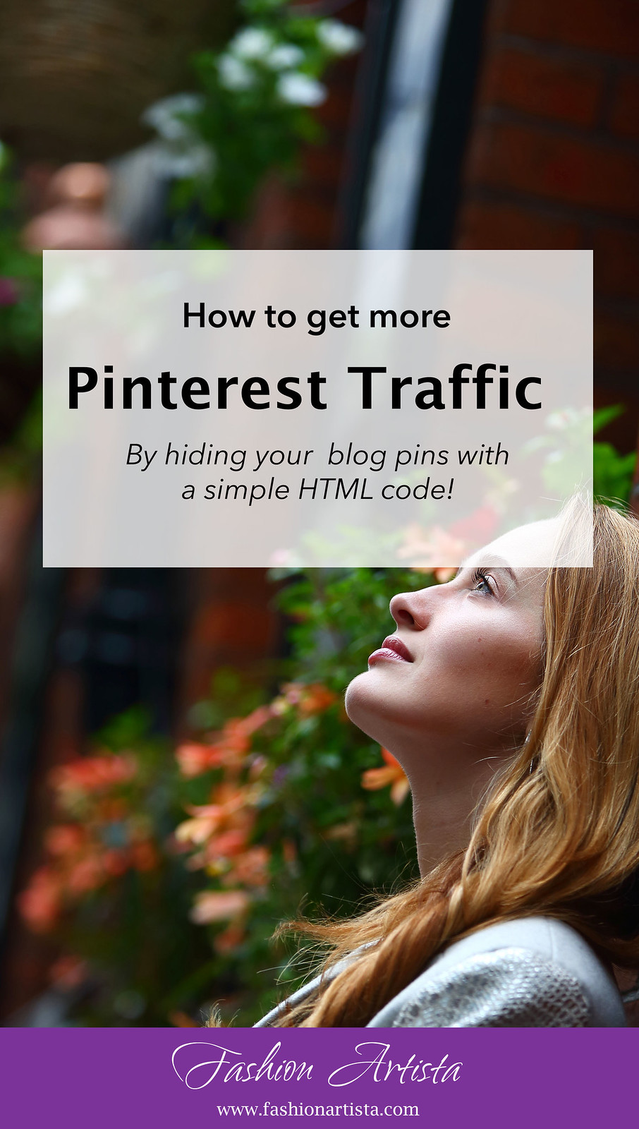 www.fashionartista.com How to hide pins on your blog post to make it look less spammy (while increasing the traffic to your blog) | blogging tips by Fashion Artista; subscribe for more hacks and get a free cheat sheet: http://bit.ly/2aSvceO