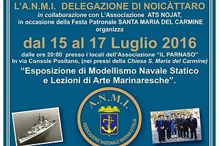 Noicattaro. Manifesto ANMI front