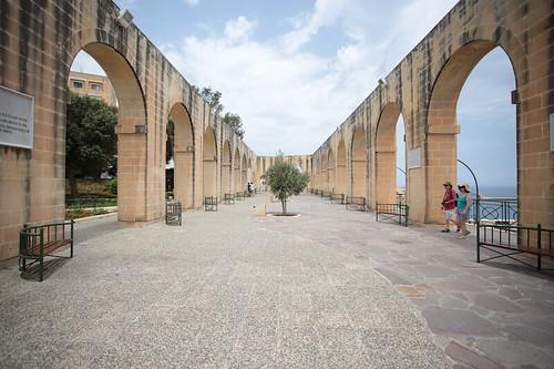 La Valletta: giardino