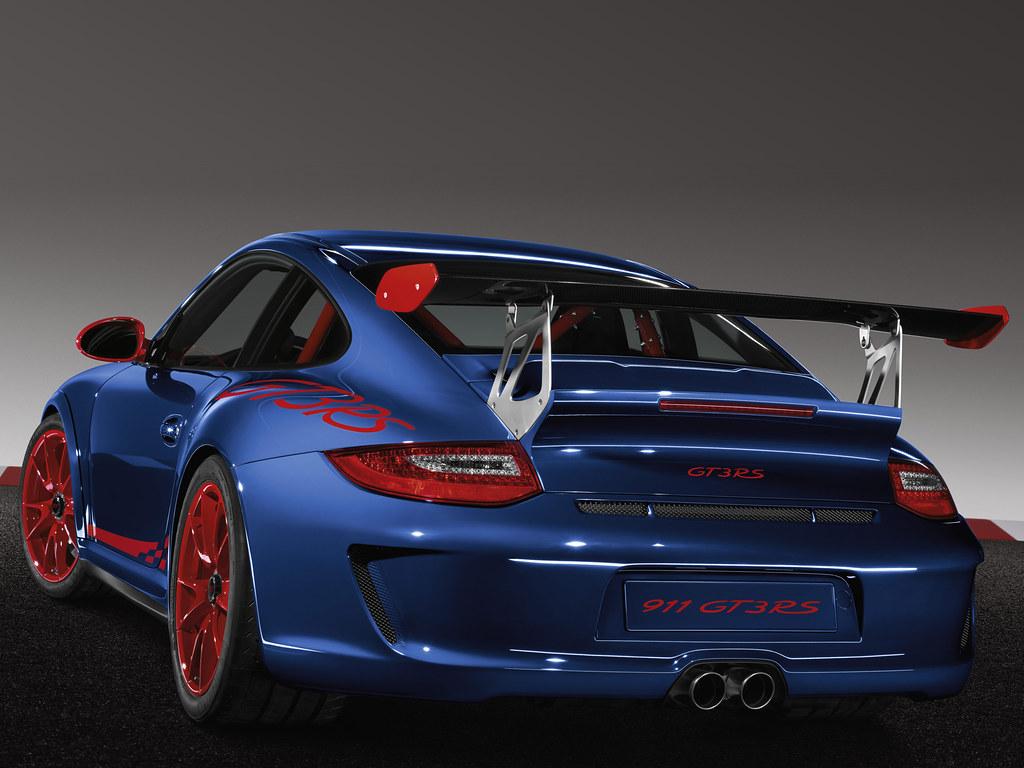 Porsche 911 GT3 RS (кузов 997). 2009 - 2013 годы
