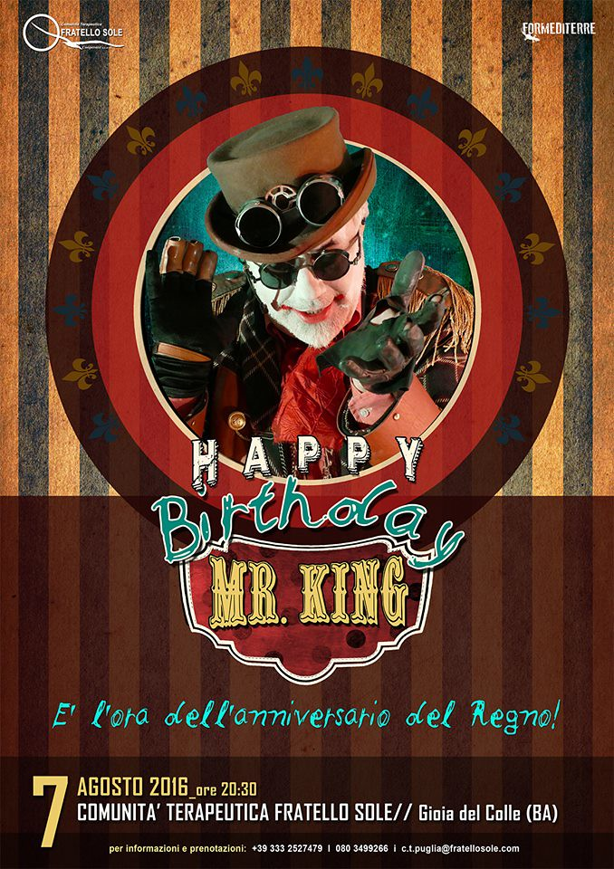 Happy Steamdead, Mr. King