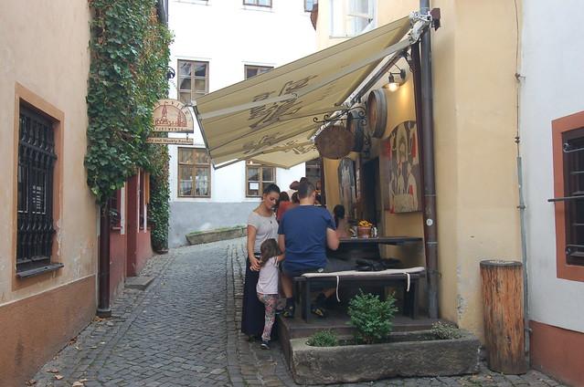 Český Krumlov Krčma v Šatlavské ulici