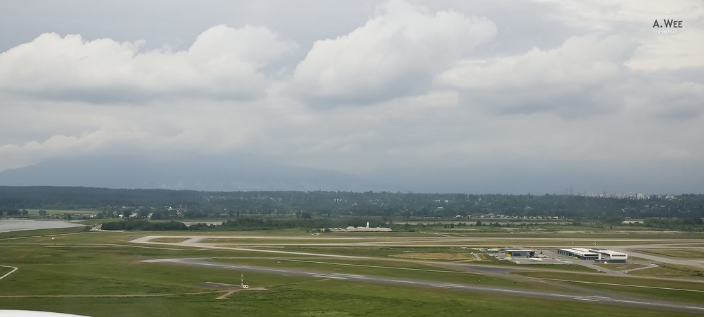 The runway at YVR