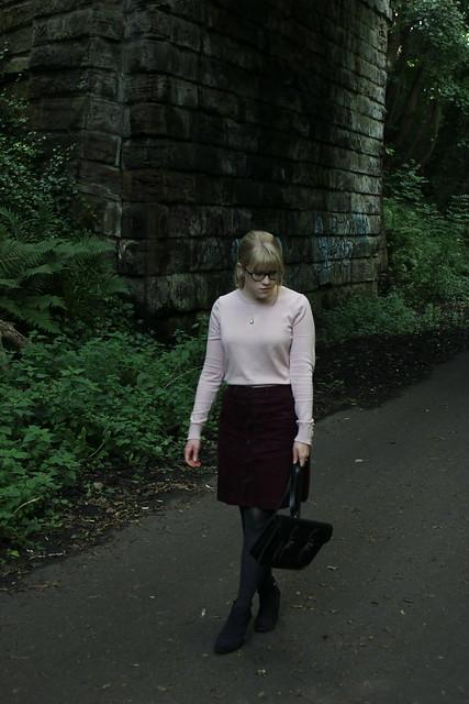 Boden Corduroy Skirt