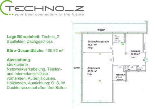 Freies Büro im Techno-Z Saalfelden