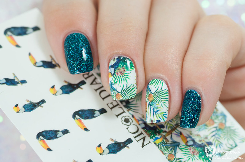 Nicole Diary - Tropical waterdecals