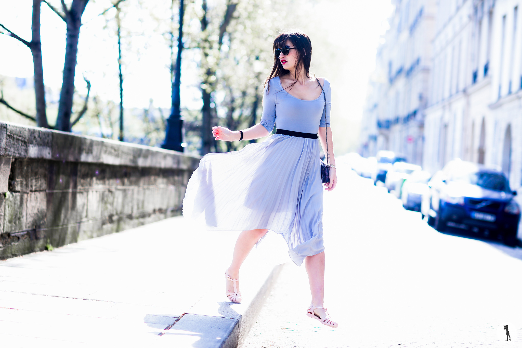 Street style, Fashion shoot with Parisian Blogger