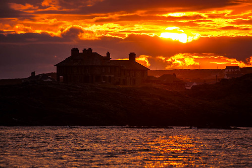 Trearddur Bay at Sunset