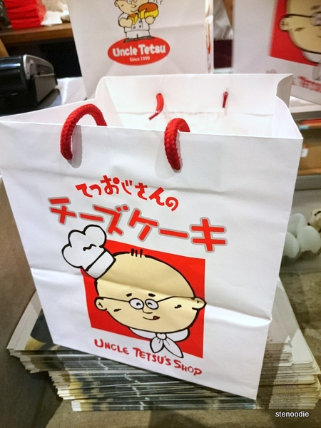 Uncle Tetsu's Japanese Cheesecake bag