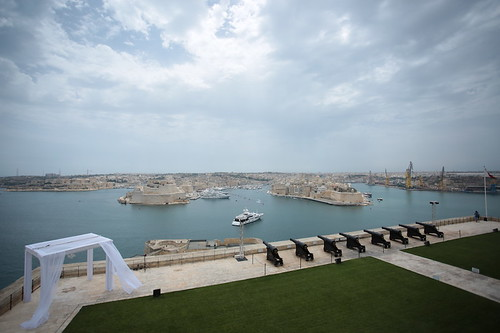La Valletta: Saluting Battery