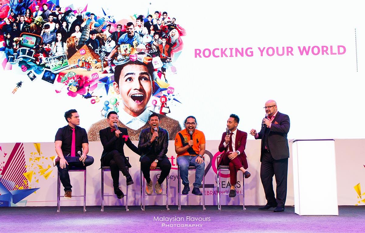 Harith Iskander talk