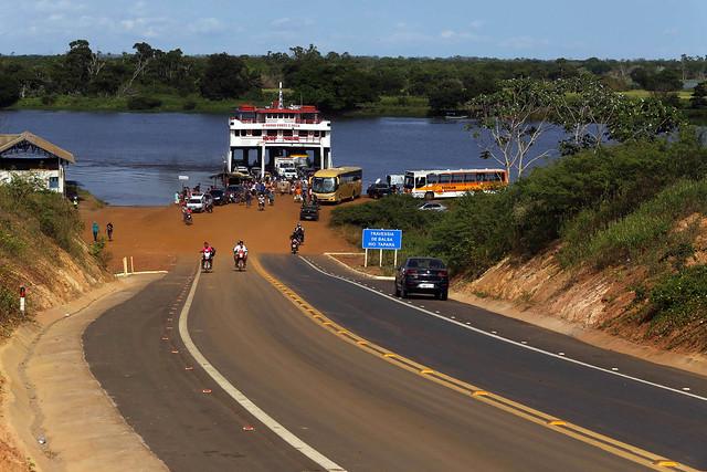 Jatene visita hospital em Santarém, e inaugura rodovia em Monte Alegre , porto de tapará