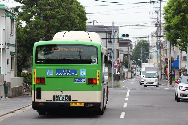 2016/07/08 東京都交通局 M126