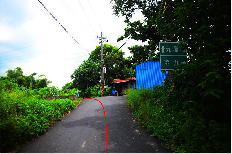 九層嶺行車岔路 2