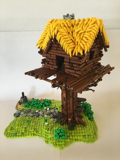This Roof Is Driving Me Bananas The Brothers Brick