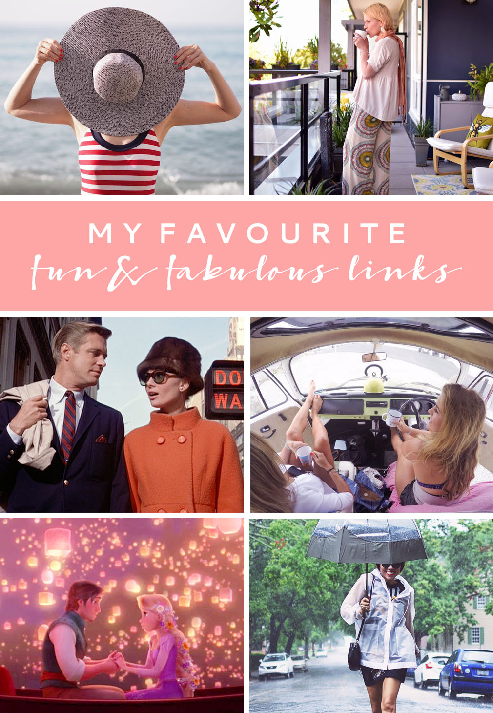 Favourite Fun & Fabulous Links August 2016 | Not Dressed As Lamb