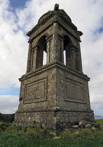 Downhill Demesne Temple in Ireland, UK