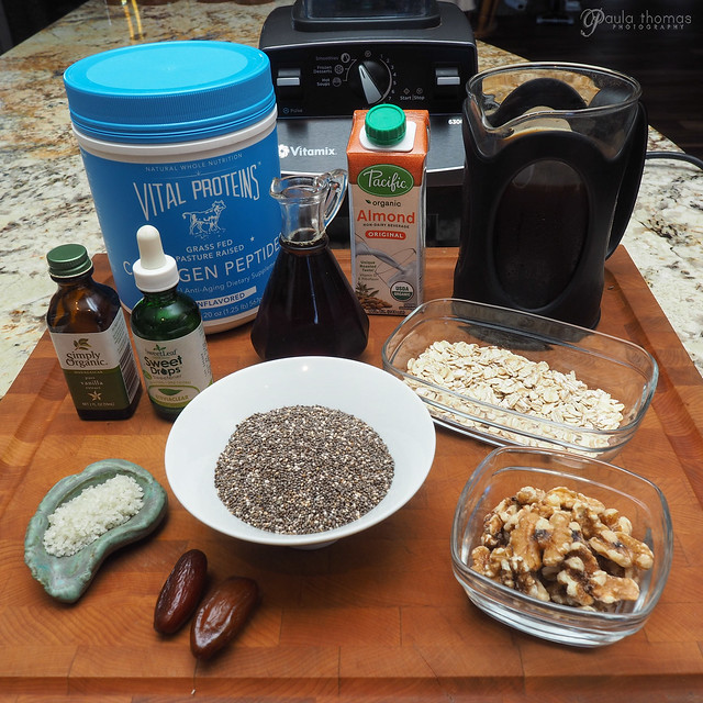 maple walnut coffee pudding Ingredients
