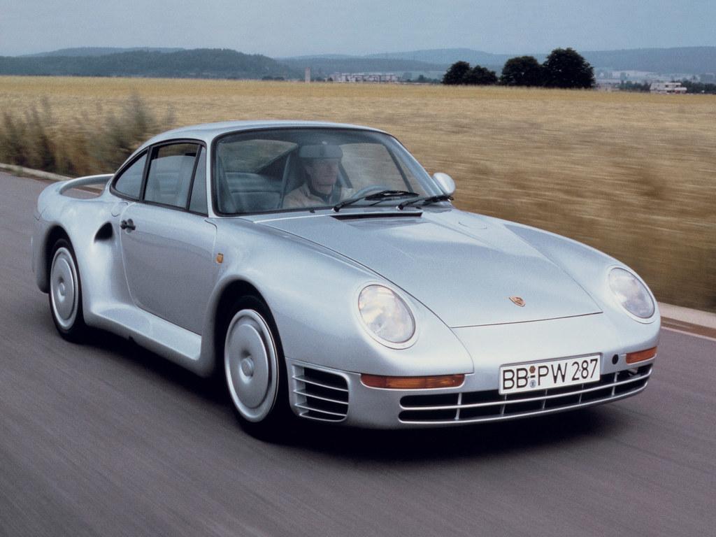 Porsche 959 Prototype. 1985 год