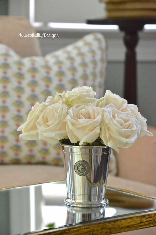 Master Bedroom Sitting Area/Roses - Housepitality Designs