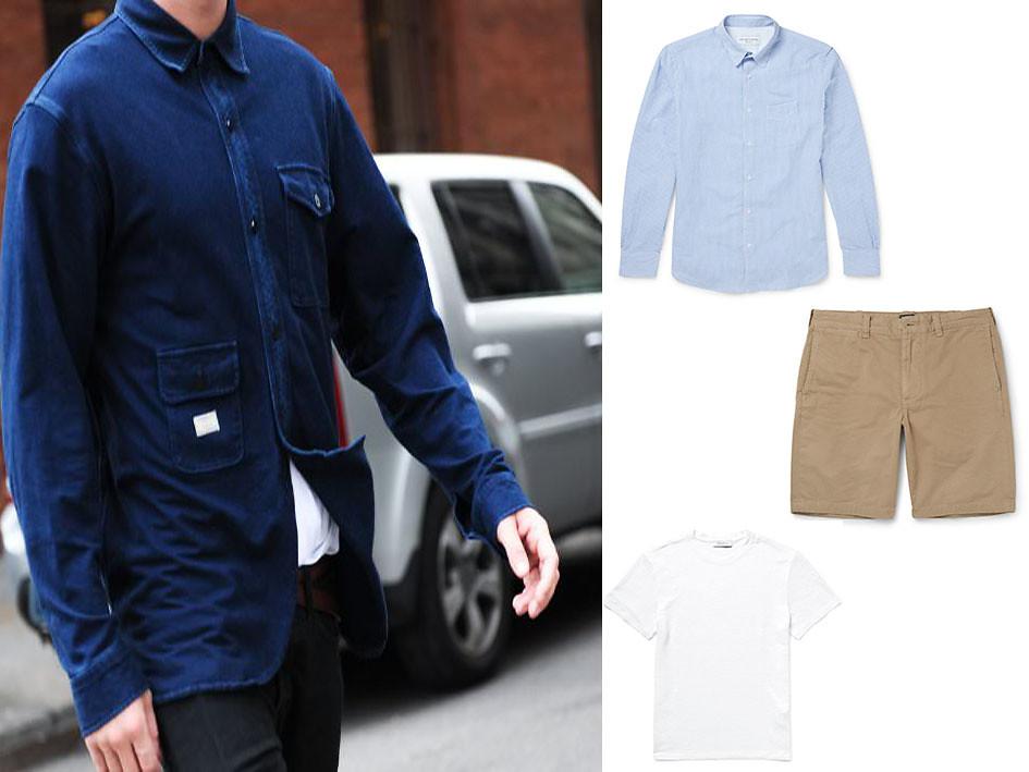Camisa azul 06