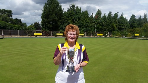 County 2 wood singles winner 2016
