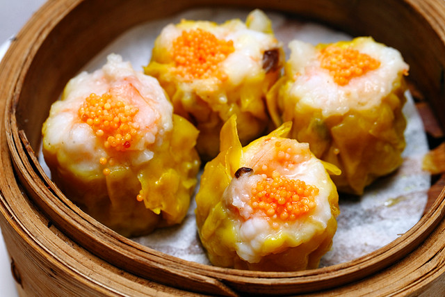 Steamed Siew Mai with Prawn