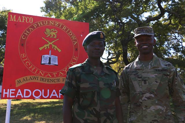 SA 2016 Malawi Senior NCO Course