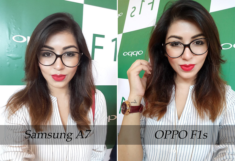 Samsung A7 vs OppoF1s