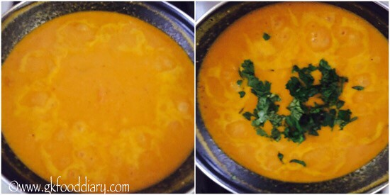 Sweet Potato Carrot Soup Recipe for Babies, Toddlers and Kids - step 6