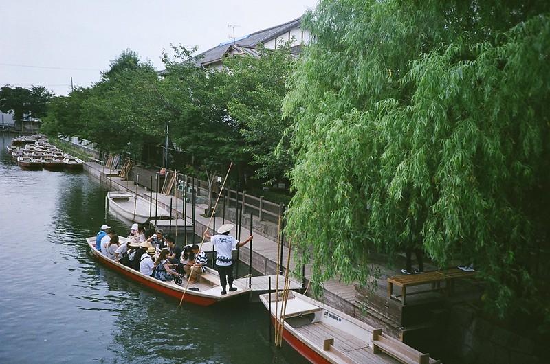柳川 川下り