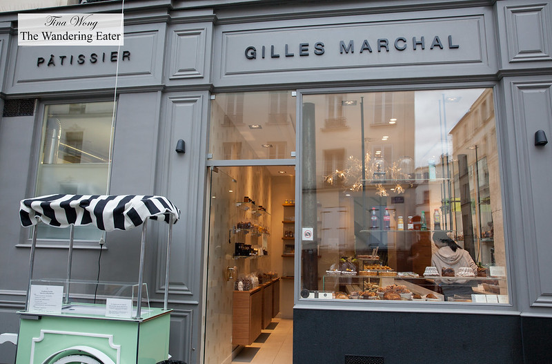 Exterior of Pattiserie Gilles Marchal