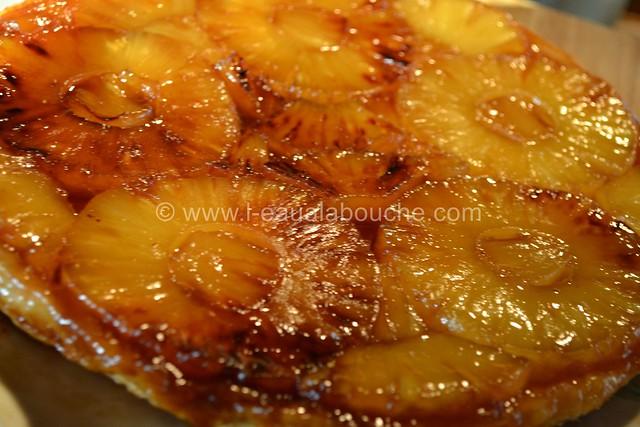 Fine Tatin à l'Ananas au Gingembre © Ana Luthi Tous droits réservés 0006