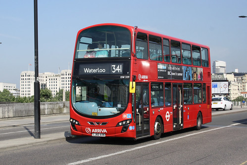 Arriva London North DW329 LJ60AXN