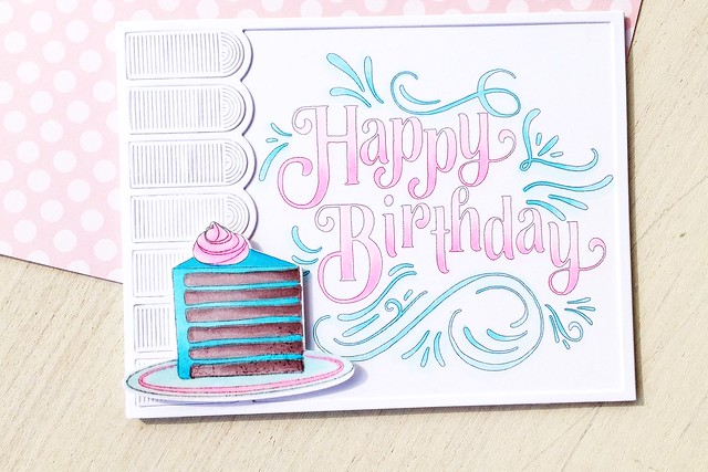 Colorful Treats, Awning Cover Plate, and Fancy Pants Sentiments Coloring Sheets by Papertrey Ink