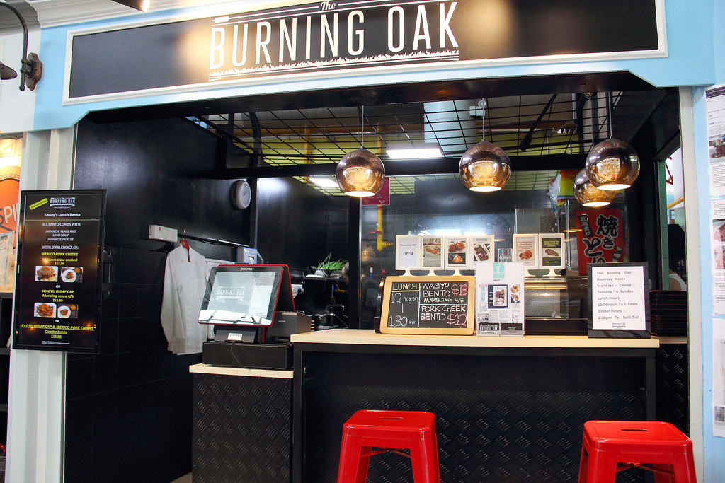 Fancy Hawker Food: Burning Oaks Photo