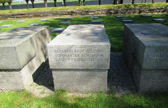 Langemark War Cemetery, Inscribed Block