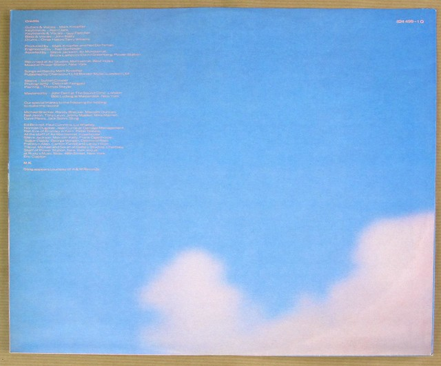 "DIRE STRAITS BROTHERS IN ARMS West Germany 12"" vinyl LP"