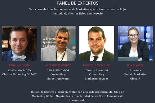 Panel Expertos del Club de Marketing Global
