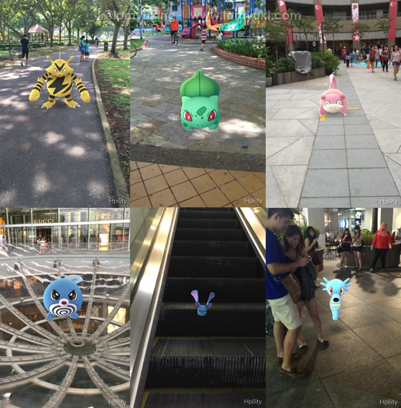 Pokémon Go business Yuki Ng16神奇宝贝